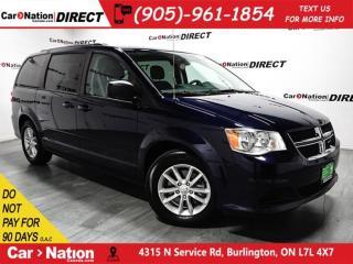 Used 2016 Dodge Grand Caravan SXT Plus| NAVI| DVD| BACK UP CAMERA| for sale in Burlington, ON