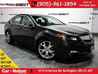 Used 2014 Acura TL Elite| AWD| SUNROOF| OPEN SUNDAYS| for sale in Burlington, ON