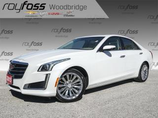 Used 2015 Cadillac CTS 3.6L AWD, NAV, SUNROOF, BOSE for sale in Woodbridge, ON