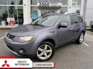 Used 2008 Mitsubishi Outlander XLS  LEATHER-SUNROOF-4X4 for sale in Port Coquitlam, BC