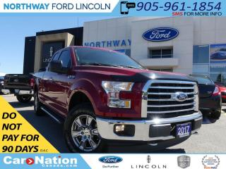Used 2017 Ford F-150 XLT | REAR CAM | SUPER CAB | BED LINER | LOW KM | for sale in Brantford, ON