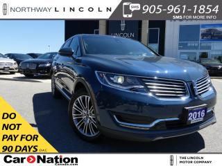 Used 2016 Lincoln MKX Reserve | 360 CAMERA | NAV | LEATHER | PANO ROOF | for sale in Brantford, ON