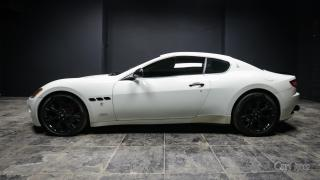 Used 2008 Maserati GranTurismo PEARLESCENT WHITE ON BEIGE LEATHER | CUSTOM EXHAUST | UPGRADED RIM PACKAGE | UPGRADE SPOILER for sale in Kingston, ON