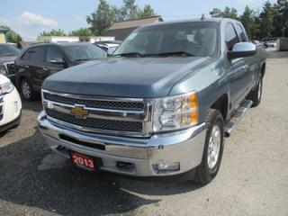 Used 2013 Chevrolet Silverado 1500 WORK READY LT MODEL 6 PASSENGER 5.3L - V8.. 4X4.. EXT-CAB.. SHORTY.. CD/AUX INPUT.. TOW SUPPORT.. KEYLESS ENTRY.. for sale in Bradford, ON