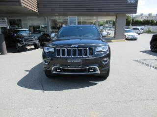 Used 2015 Jeep Grand Cherokee Overland for sale in Langley, BC