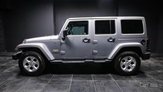 Used 2015 Jeep Wrangler Unlimited Sahara HANDS FREE | REMOVABLE HARD TOP | LEATHER for sale in Kingston, ON