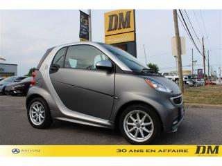 Used 2016 Smart fortwo PASSION for sale in Salaberry-de-Valleyfield, QC