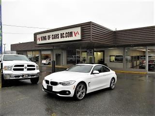 Used 2014 BMW 4 Series 428 COUPE XDRIVE WITH COLLISION PREVENTION for sale in Langley, BC