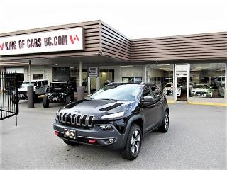 Used 2017 Jeep Cherokee Trailhawk 4X4 for sale in Langley, BC