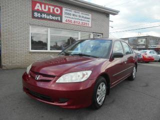 Used 2005 Honda Civic SE for sale in Saint-hubert, QC