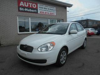 Used 2010 Hyundai Accent L for sale in Saint-hubert, QC
