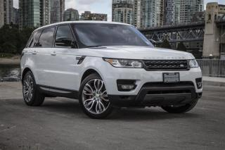 Used 2016 Land Rover Range Rover Sport V8 Supercharged Dynamic SALE ON NOW! for sale in Vancouver, BC