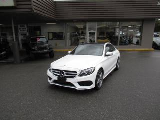 Used 2016 Mercedes-Benz C-Class C300 4MATIC WITH COLLISION PREVENTION for sale in Langley, BC