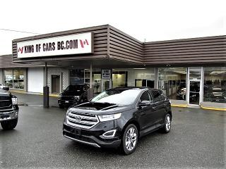 Used 2017 Ford Edge Titanium AWD for sale in Langley, BC