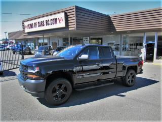 Used 2016 Chevrolet Silverado 1500 4 DOORS - 5.3L V8 - 4X4 for sale in Langley, BC