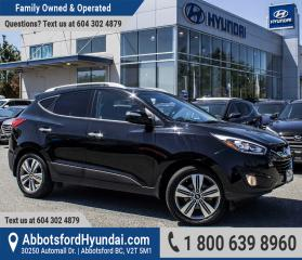 Used 2015 Hyundai Tucson Limited LOW KILOMETRES, BC OWNED & ACCIDENT FREE for sale in Abbotsford, BC