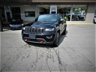 Used 2017 Jeep Grand Cherokee Trailhawk for sale in Langley, BC