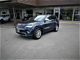 Used 2016 Jeep Grand Cherokee LIMITED WITH ADJUSTABLE AIR SUSPENSION for sale in Langley, BC
