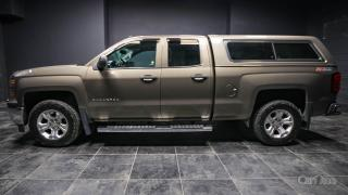 Used 2014 Chevrolet Silverado 1500 HEATED SEATS! BACK UP CAM! DUAL CLIMATE! BED CAP! for sale in Kingston, ON