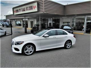 Used 2017 Mercedes-Benz C-Class C300 4MATIC for sale in Langley, BC