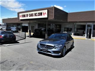 Used 2017 Mercedes-Benz C43 AMG 3.0L V6 BI-TURBO - 4MATIC for sale in Langley, BC