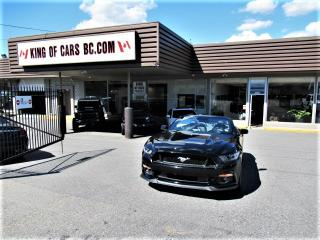 Used 2017 Ford Mustang GT CONVERTIBLE - 6 SPEED MANUAL - BREMBO BRAKES for sale in Langley, BC