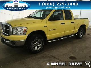 Used 2007 Dodge Ram 1500 SLT for sale in Meadow Lake, SK