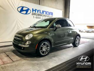 Used 2012 Fiat 500 LOUNGE + CUIR + TOIT + MAGS + CLIMATISEU for sale in Drummondville, QC