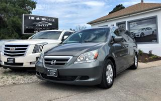 Used 2007 Honda Odyssey EX 8 PASSENGER NO ACCIDENT for sale in Mississauga, ON