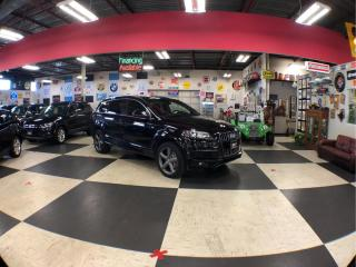 Used 2015 Audi Q7 3.0T S-LINE AWD 7PASSENGERS NAVI LEATHER  PANO/ROOF CAMERA for sale in North York, ON