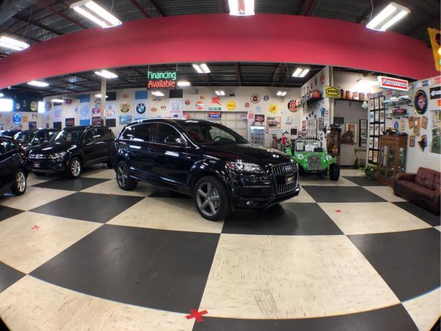 2015 Audi Q7 3.0T S-LINE AWD 7PASSENGERS NAVI LEATHER  PANO/ROOF CAMERA