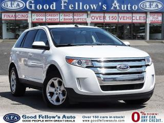 Used 2014 Ford Edge SEL MODEL,REARVIEW CAMERA, 6CYL 3.5L, HEATED SEATS for sale in North York, ON