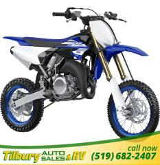 New 2018 Yamaha YZ65 (2 Stroke) 65 cc liquid cooled, 2-stroke engine for sale in Tilbury, ON