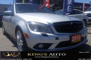 Used 2010 Mercedes-Benz C 300 C 300 | 4MATIC for sale in Scarborough, ON