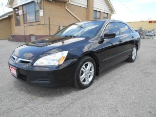 Used 2006 Honda Accord EX-L 2.4L Automatic Leather Sunroof Certified 251K for sale in Etobicoke, ON