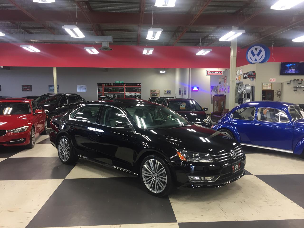 2015 Volkswagen Passat 1.8TSI COMFORTLINE AUT0 2 TONE LEATHER SUNROOF 34K