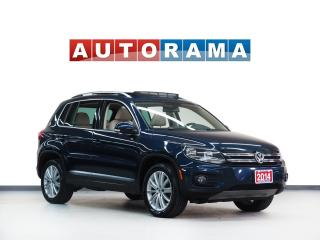 Used 2014 Volkswagen Tiguan SPORT PKG LEATHER PAN SUNROOF 4WD for sale in North York, ON