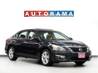 Used 2013 Nissan Altima SL BACKUP CAMERA  LEATHER SUNROOF for sale in North York, ON