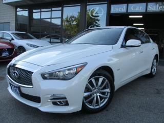 Used 2016 Infiniti Q50 2.0t-AWD-PRM-PKG-CAMERA-SPORT-LOADED for sale in Scarborough, ON