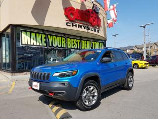 Used 2019 Jeep Cherokee Trailhawk NAVI H-TED SEAT R-CAM BLIND SPOT MONITOR for sale in Scarborough, ON