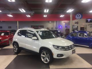 Used 2014 Volkswagen Tiguan 2.0TSI HIGHLINE AUT0 AWD NAVI LEATHER PANO/ROOF for sale in North York, ON