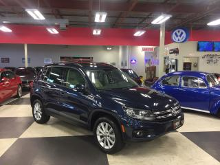 Used 2014 Volkswagen Tiguan 2.0 TSI COMFORTLINE AUT0 AWD LEATHER PANO/ROOF 89K for sale in North York, ON