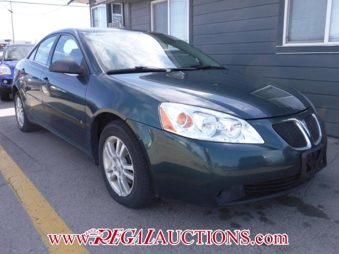 Photo of Green 2006 Pontiac G6