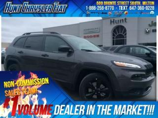 Used 2018 Jeep Cherokee ALTITUDE/BLACKOUT/CAMERA/BT/HTD SEATS & MORE!!! for sale in Milton, ON