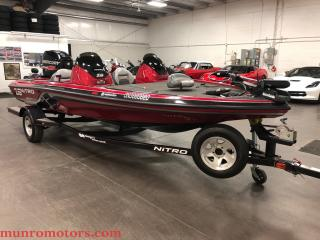 Used 2013 Nitro Marine Inc Z6 Mercury Pro XS 115 Trailer Cover - for sale in St George Brant, ON