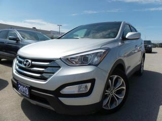 Used 2013 Hyundai Santa Fe LIMITED 2.0L I4 TURBO for sale in Midland, ON