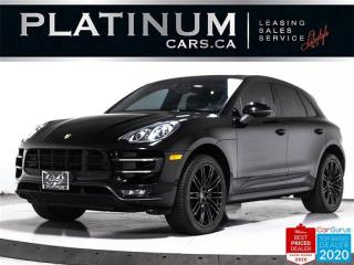 Used 2015 Porsche Macan Turbo, 400HP, SPORT CHRONO, NAV, PANO, CAM for sale in Toronto, ON