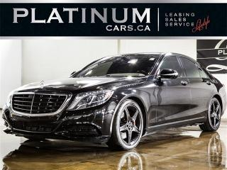 Used 2014 Mercedes-Benz S550 4MATIC, NAVI, PANO, CAM, HEATED F/R LTHR for sale in North York, ON