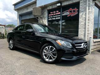 Used 2017 Mercedes-Benz C-Class C 300 berline 4 portes 4MATIC GPS TOIT P for sale in Longueuil, QC