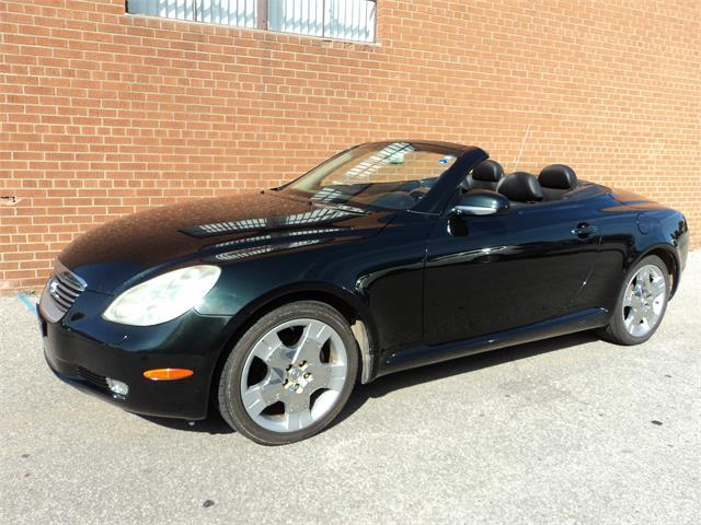 2002 Lexus SC 430 CANADIAN HARDTOP CONVERTIBLE SAFETY WARRANTY